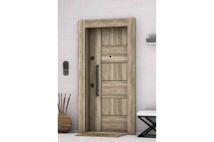 Doorplus Çelik Kapı A- Plus 4x4 Güvenlikli Ayder 1004
