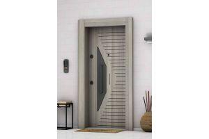 Laminoks Çelik Kapı A- Plus 4x4 Güvenlikli Hazar 1041