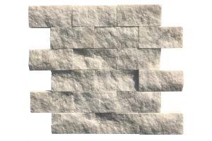 Evim Doğal Taş Beyaz Mermer Patlatma Mozaik 1061
