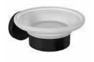 Bocchi Piave Sabunluk Buzlu Cam Mat Siyah 30150002AB