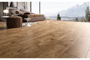 Qua Granit Tiber Wood Avana Rektifiyeli Mat Seramik