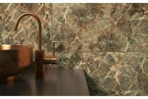 Qua Granit Trope Brown Rektifiyeli Tam Parlak Seramik