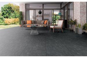Qua Granit Street Graphite Rektifiyeli Mat Seramik