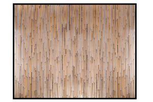 Evim Çerçeveli Bambu Seperatör Panel EP02