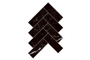 Evim Granit Mozaik Herringbone Sombra Black 1206