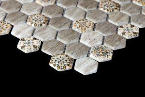 Evim Dijital Baskılı Altıgen Mozaik FBDJ042